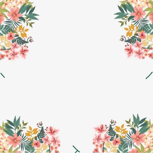 ¡Cuadrado de flores, trópico y amor!