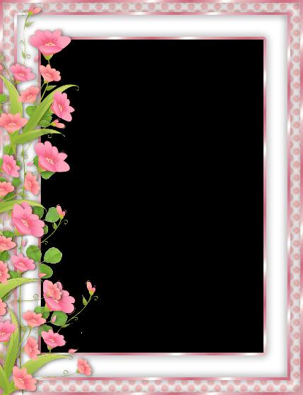 Marco de flores para quinceañeras