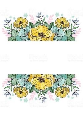 Las flores amarillas más chic
