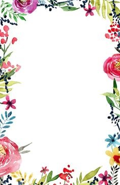 Marco de flores renovado