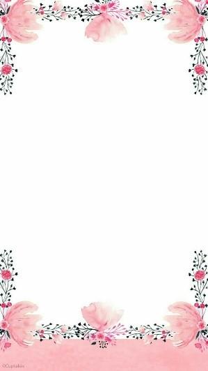 ¡Blanco y rosa para las flores más hermosas!
