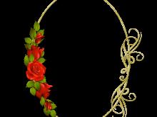 Clasico con rosas rojas