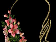 Lirios color rosa PNG