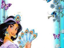 Marcos de princesas y flores para fotos