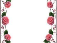 Marco de rosas para el rosal