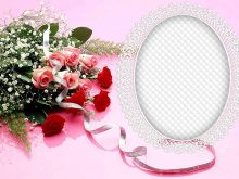 Marcos de rosas para boda